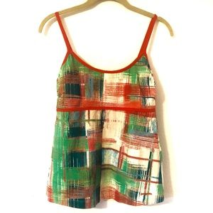 Patagonia Abstract Tank Top Built in Bra